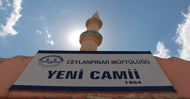 Ceylanpınar'da Camiler İlaçlanıyor