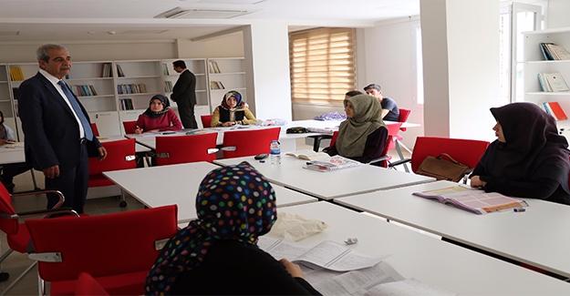 Demirkol Ders Çalışma Salonlarını Ziyaret Etti