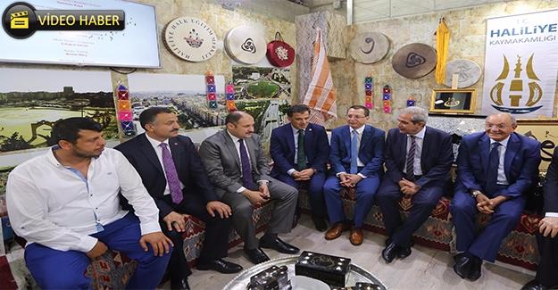 Demirkol Haliliye'yi Ankara'da Tanıtıyor