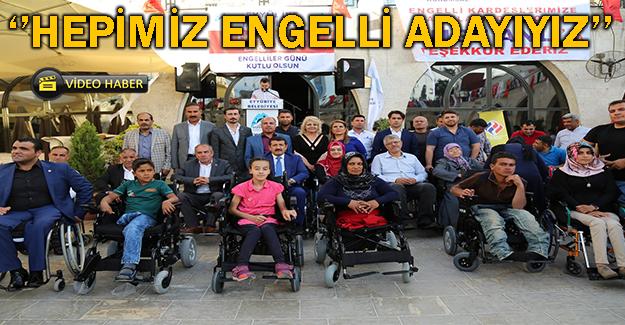 Engelli Dostu Başkan Yine Engellileri Yalnız Bırakmadı