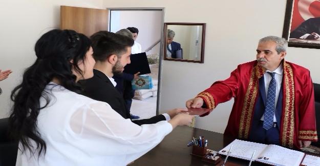 Haliliye'de 10 Bininci Nikah Kıyıldı