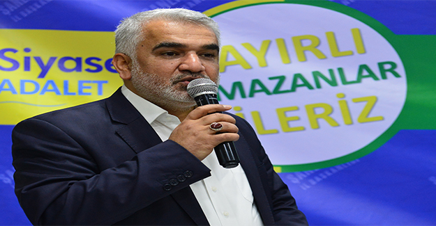 HÜDAPAR Genel Başkanı Urfa'da Konuştu: Özümüze Dönelim