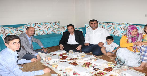 Müdür Bilici İftarını Şehit Günak'ın Ailesiyle Açtı