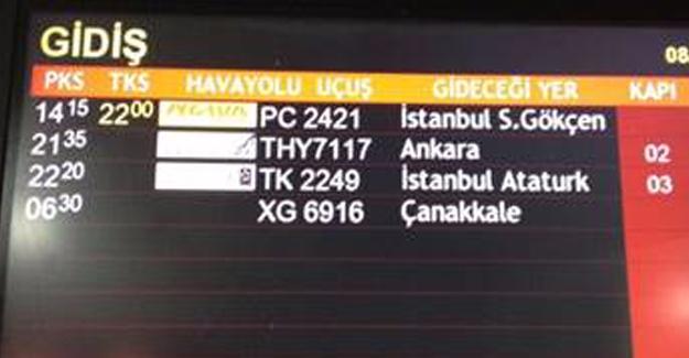 Şanlıurfa'da Lastiği Patlayan Uçak 8 Saat Rötar Yaptı