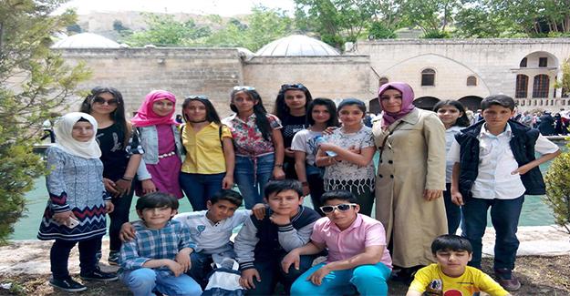 Siverekli Öğrenciler Şanlıurfa'yı Gezdi