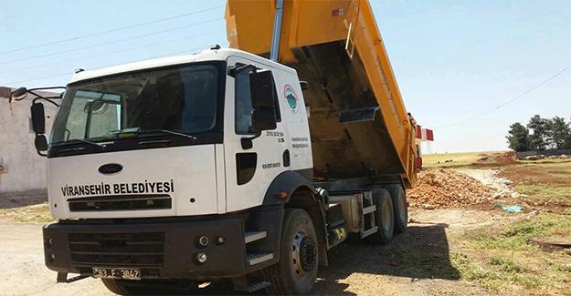 Viranşehir'de 1 Milyon 500 Bin Metrekare Yol Çalışması