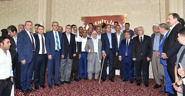 Viranşehir'de Hüsumetli Aileler Barıştı