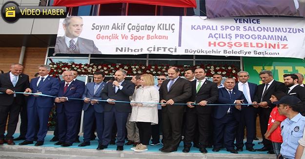 Yenice Spor Salonu Hizmete Açıldı