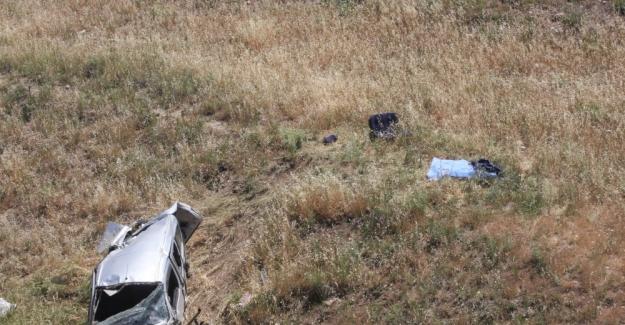 Adıyaman'da otomobil devrildi: 1 ölü, 4 yaralı