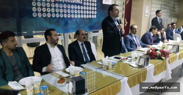 AK Parti Şanlıurfa'da Vefa İftarı Yapacak