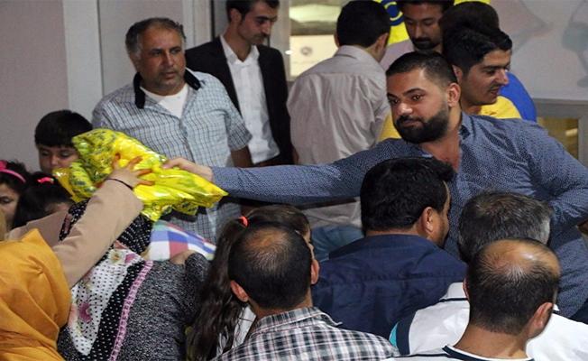 Arif Önkol, Yardıma Muhtaç Aileleri Sevindirdi