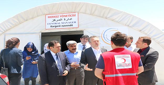 ASP Müsteşar Yardımcısı Karabay, Mülteci Kampını Ziyaret Etti