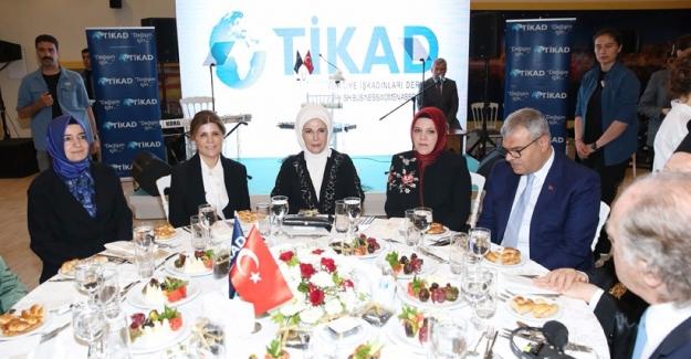 Emine Erdoğan TİKAD'ın İftar Yemeğine Katıldı