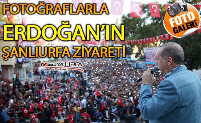 Erdoğan'ın Urfa Ziyaretinin Objektiflere Yansıması
