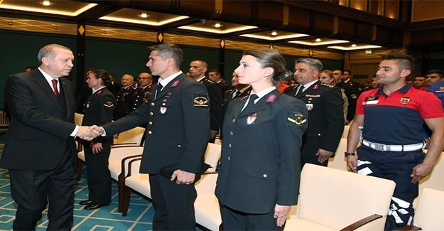 Erdoğan: Jandarma Tarih Yazıyor