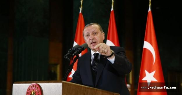 Erdoğan Şanlıurfalı Muhtarlara Buluştu