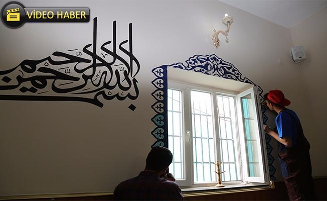 Eyyübiye'de Camilerin Bakım ve Onarımları Sürüyor