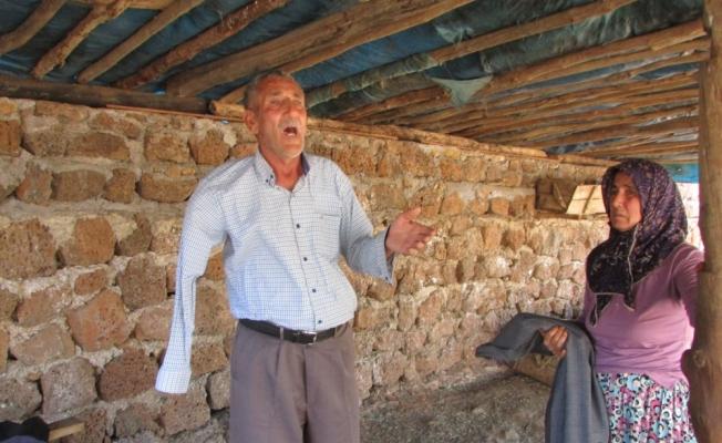 Gaziantep'te yaşlı çiftin inekleri çalındı