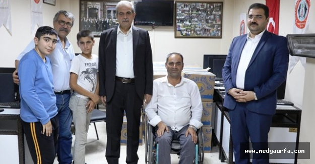 Demirkol: Haliliye Belediyesi Olarak Engellilerimizin Yanındayız