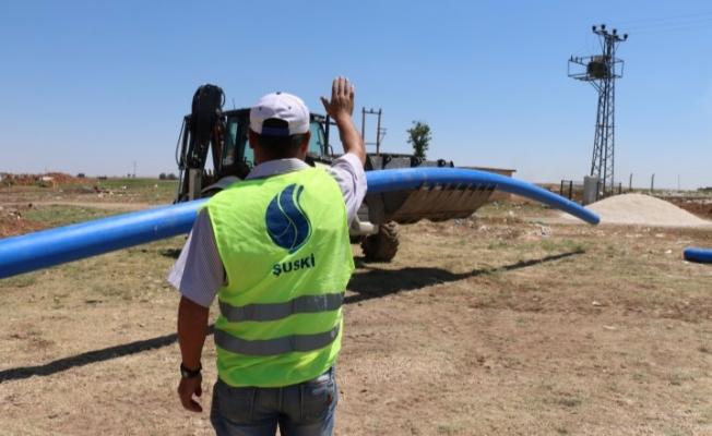 Harran'da Alt Yapı Çalışmaları Devam Ediyor