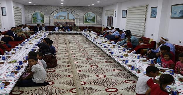 Harran'da Şehit Yakınları ve Yetim Çocuklara İftar
