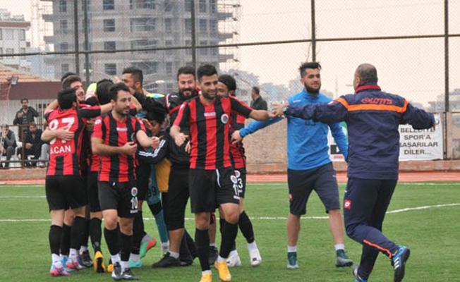 Karaköprü'de İlk Maç İç Sahada