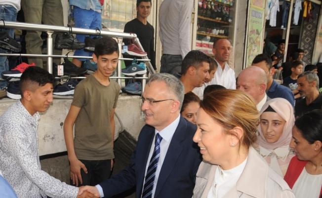 Maliye Bakanı Ağbal, Cizre'de