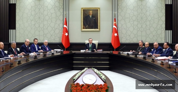 MGK Toplantısı Erdoğan Başkanlığında Yapıldı