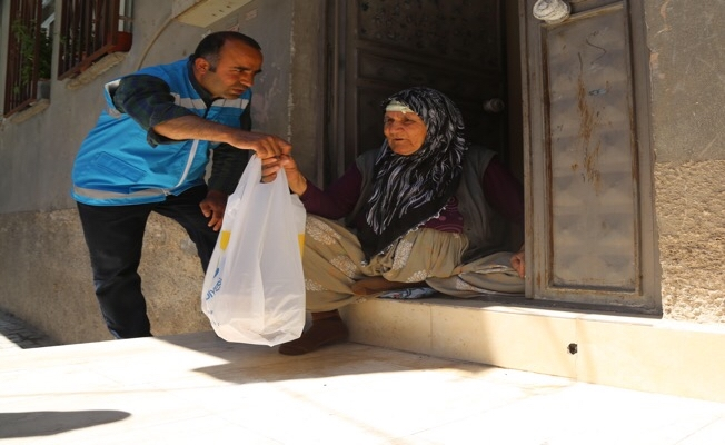 """Haliliye'de """"Evlere iftar hizmeti"""" ilgi görüyor"""