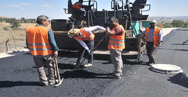 Şanlıurfa'da Asfalt İşçilerinin Ramazan Mesaisi