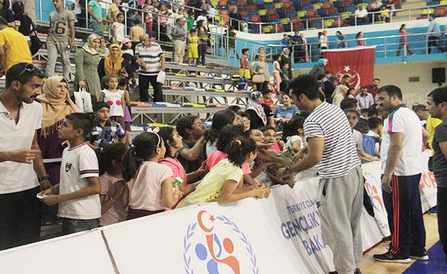 Şanlıurfa'da Yaz Spor Okulları Açıldı