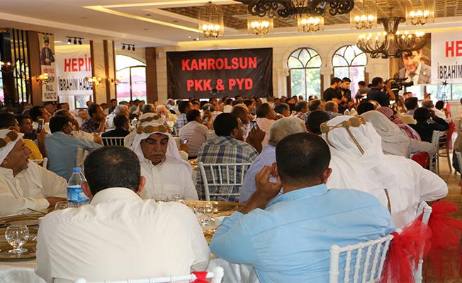Şanlıurfalı Araplar, PKK ve PYD'ye Tepki İçin Toplandı