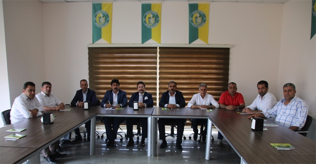 Şanlıurfaspor'da Görev Bölümü Yapıldı