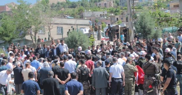 Şehit korucu Şırnak'ta son yolculuğuna uğurlandı