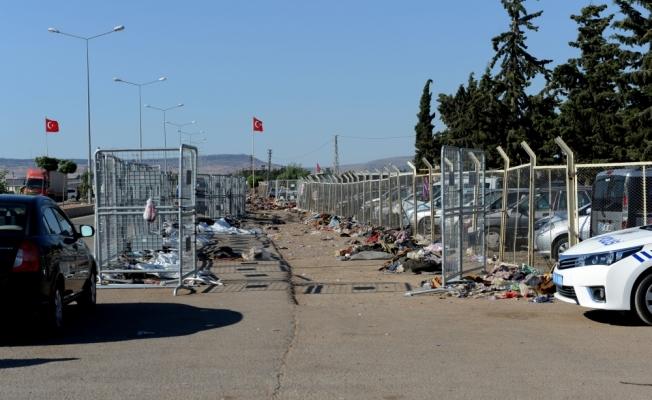 Sınır kapısında bayram yoğunluğu sona erdi