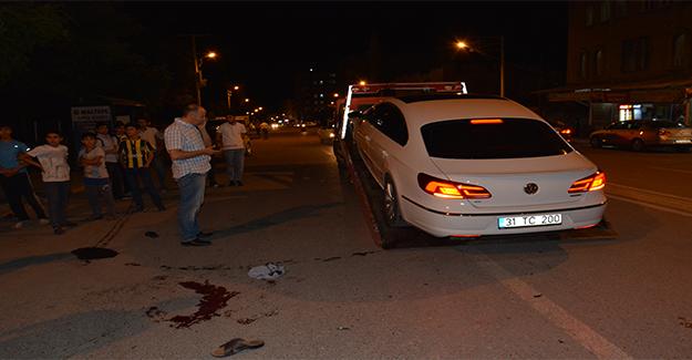 Siverek'te Otomobille Motosiklet Çarpıştı: 2 Yaralı