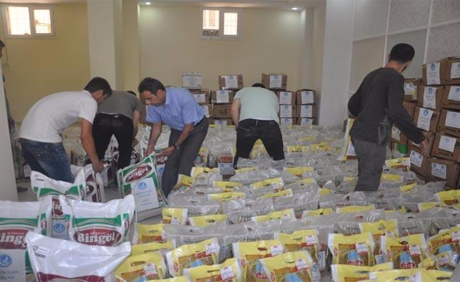 Ülkü Ocaklarından Şehit Yakınlarına Gıda Yardımı
