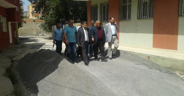 Viranşehir'de belediye çalışmaları