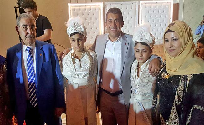 Başkan Atilla Eyyüpoğlu Ailesine Kirve Oldu