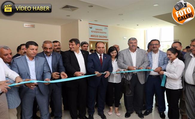 Büyükşehir'in Yeni Meclis Salonu Açıldı