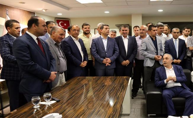 Fakıbaba Büyükşehir Belediyesini Ziyaret Etti