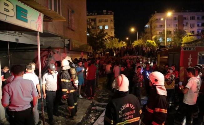 Gaziantep'te patlamaya ilişkin ayrıntılar