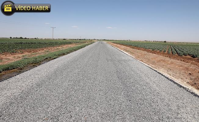 Harran'da 84 Kilometrelik Yol Ağı Asfaltlandı