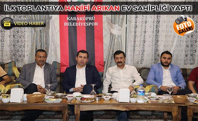 Karaköprü Belediyespor İlk Toplantısını Yaptı