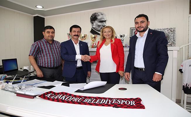 Kesik Yapı Karaköprü Belediyespor'a sponsor oldu