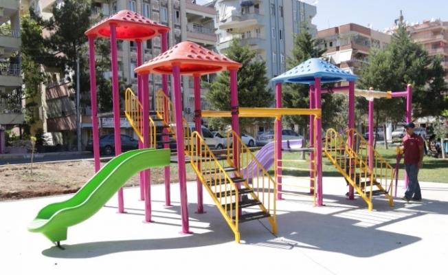 Parklar Haliliye Belediyesi İle Güzelleşiyor