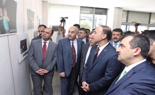 Şanlıurfa'da 15 Temmuz Fotoğraf Sergisi Açıldı