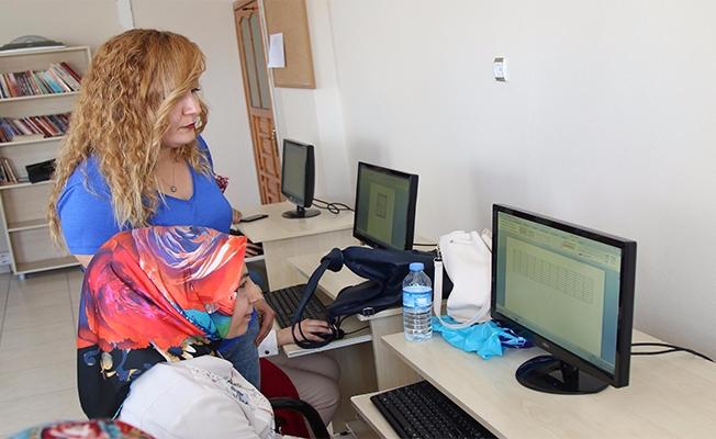 Şanlıurfa'da Kadınlara Bilgisayar Kursu