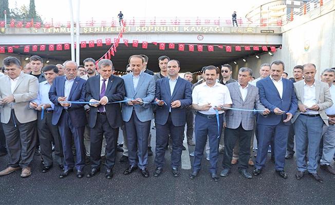 Şanlıurfa'da Şehitler Anıtı Açıldı