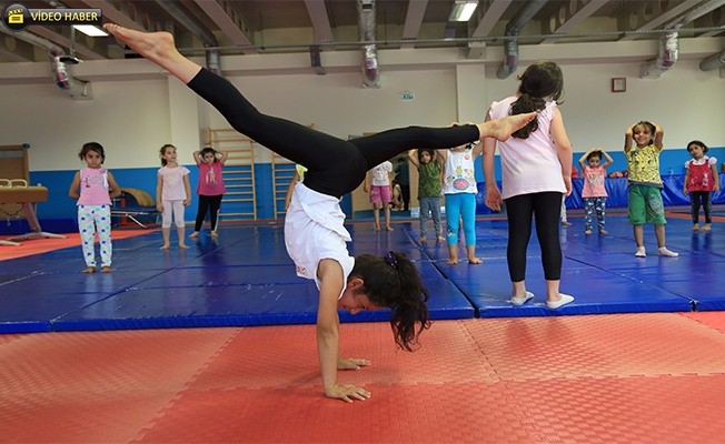 Şanlıurfa Gençlikspor Geleceğin Cimnastikçilerini Yetiştiriyor
